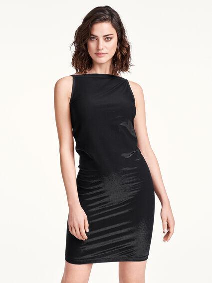 Wolford WILMA Dress NEW black // black metallic