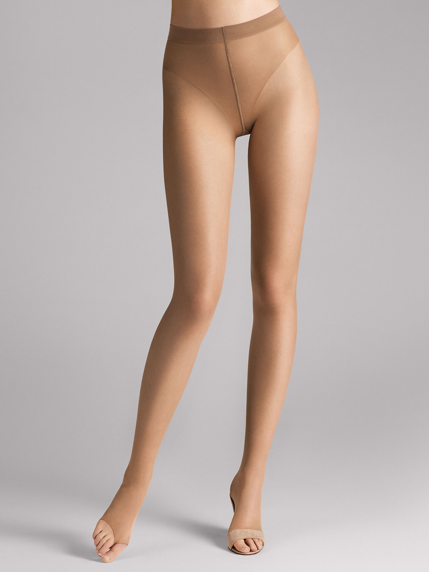 Wolford individual den stay hip tights black