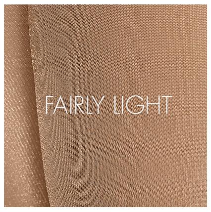 Fairly light